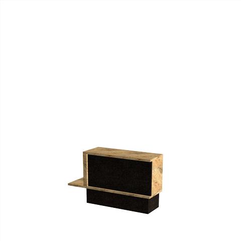 Columbariums - 1 Cases (4 Urnes) - ORIZEA - Noir - Sansone Municipalités