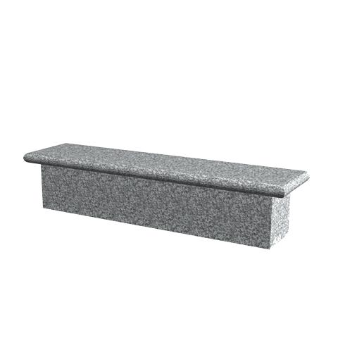 am nagement mobilier et accessoires banc en granit quilibre sansone municipalit s. Black Bedroom Furniture Sets. Home Design Ideas