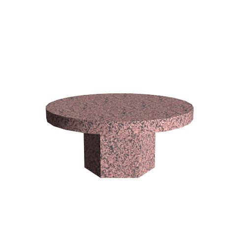 Aménagement Cimetière SANSONE - Banc en granit COURONNE