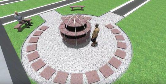SANSONE Municipalites - Video 3d Columbarium
