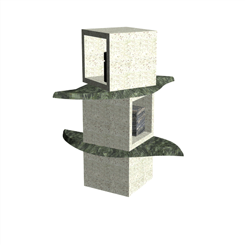 Columbariums - 2 Cases - Krystal KFN2 - Sansone Collectivités