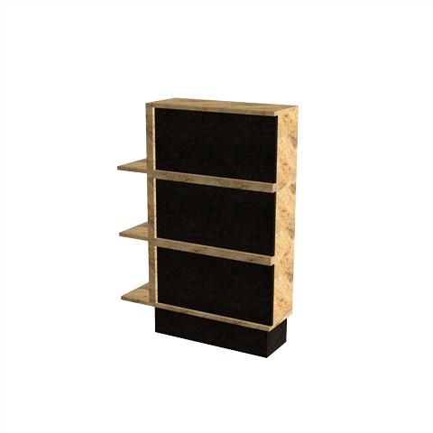 Columbariums - 3 Cases (12 Urnes) - ORIZEA - Noir - Sansone Collectivités