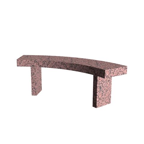Aménagement Cimetière SANSONE - Banc en granit ODÉON
