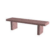 Aménagement Cimetière SANSONE - Banc en granit PROFIL