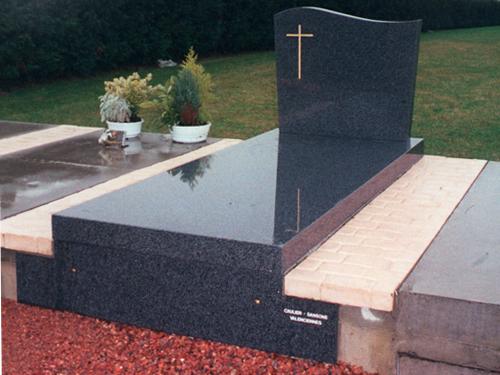 Sansone Collectivites - Cim'easy 2 - Caveau cimetière