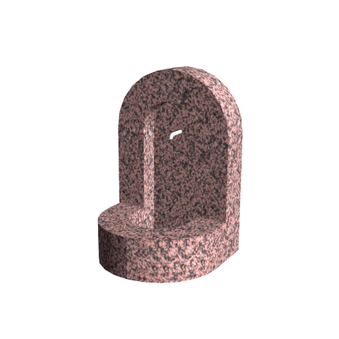 Aménagement Cimetière SANSONE - Fontaine en granit ALCÔVE