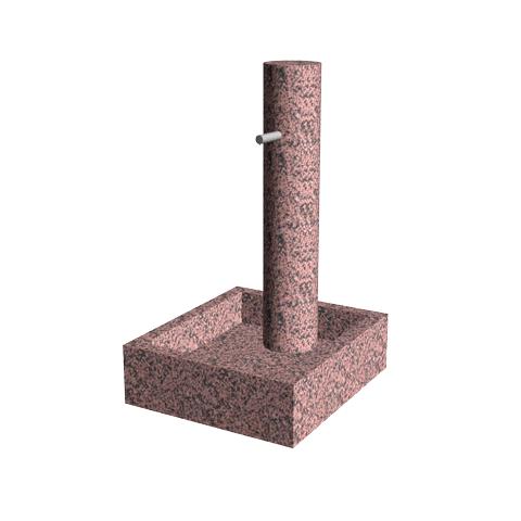 Aménagement Cimetière SANSONE - Fontaine modèle CYCLUS