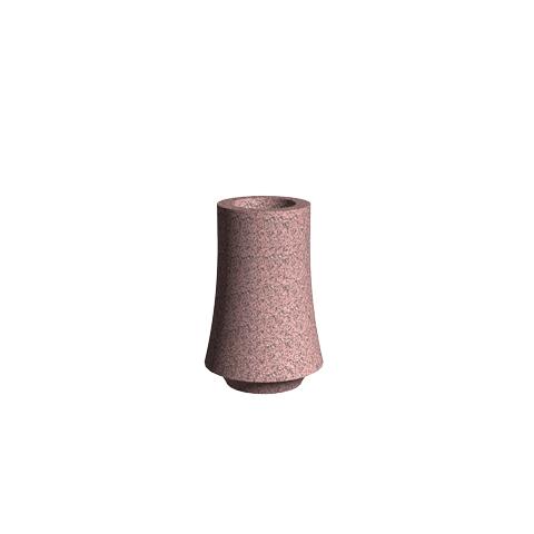Aménagement Columbarium SANSONE - Vase AC2 Rose de la Clarté